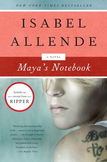 Maya's Notebook - A Novel - cover