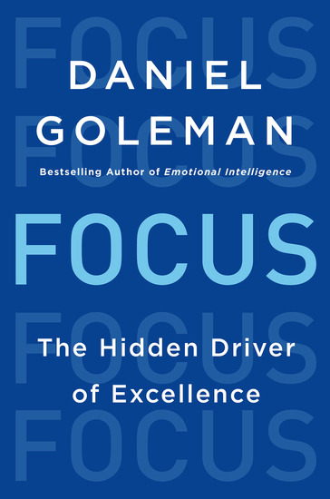 Focus - The Hidden Driver of Excellence - cover