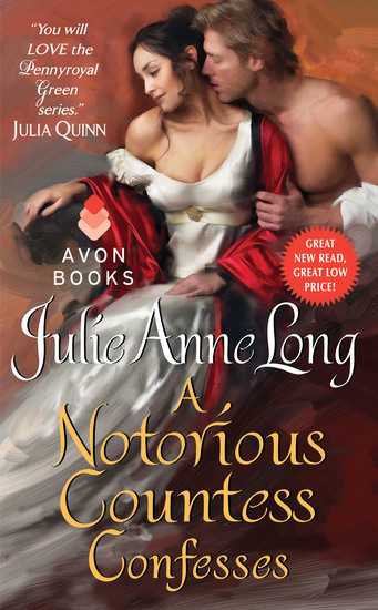 A Notorious Countess Confesses - Pennyroyal Green Series - cover