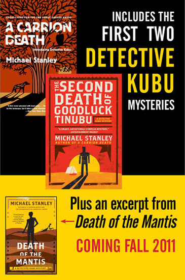 Michael Stanley Bundle: A Carrion Death & The 2nd Death of Goodluck Tinubu - The Detective Kubu Mysteries with Exclusive Excerpt of Death of the Mantis - cover