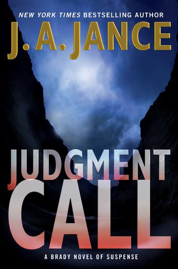 Judgment Call - A Brady Novel of Suspense - cover