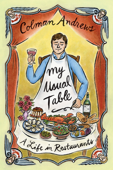My Usual Table - A Life in Restaurants - cover