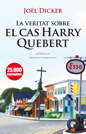 La veritat sobre el cas Harry Quebert - cover
