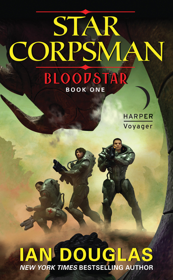 Bloodstar - Star Corpsman: Book One - cover