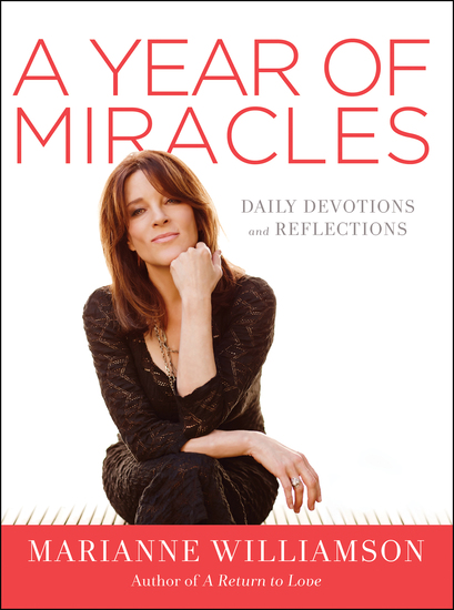 A Year of Miracles - Daily Devotions and Reflections - cover