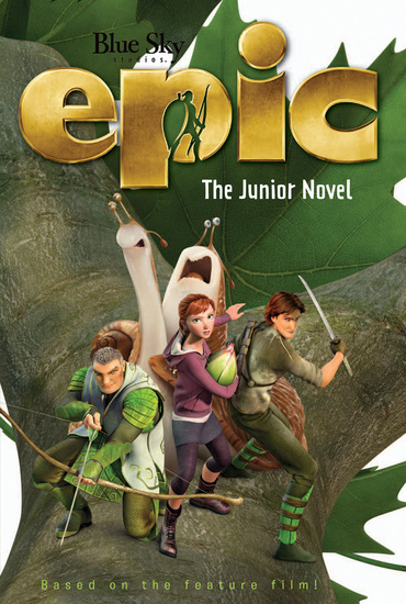 Epic: The Junior Novel - cover