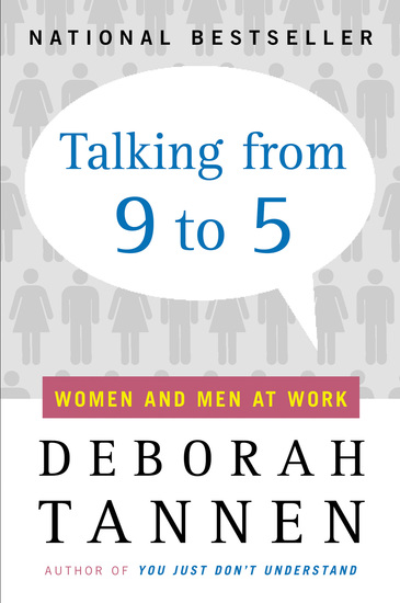 Talking from 9 to 5 - Women and Men at Work - cover