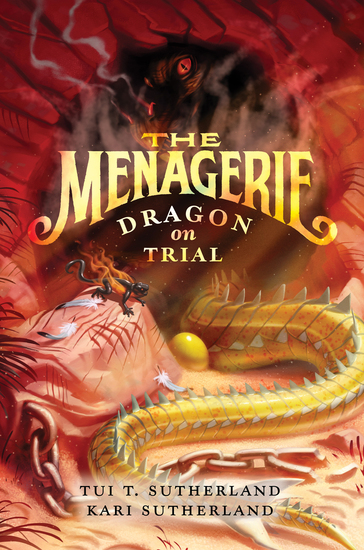 The Menagerie #2: Dragon on Trial - cover