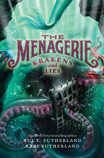 The Menagerie #3: Krakens and Lies - cover