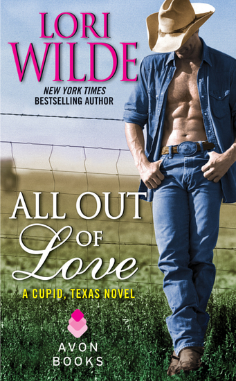 All Out of Love - A Cupid Texas Novel - cover
