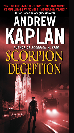 Scorpion Deception - cover