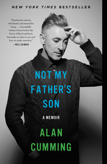 Not My Father's Son - A Memoir - cover