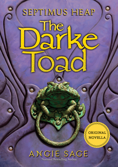 Septimus Heap: The Darke Toad - cover