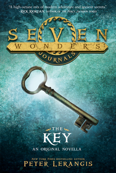 Seven Wonders Journals: The Key - cover