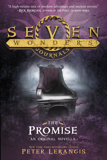 Seven Wonders Journals: The Promise - cover