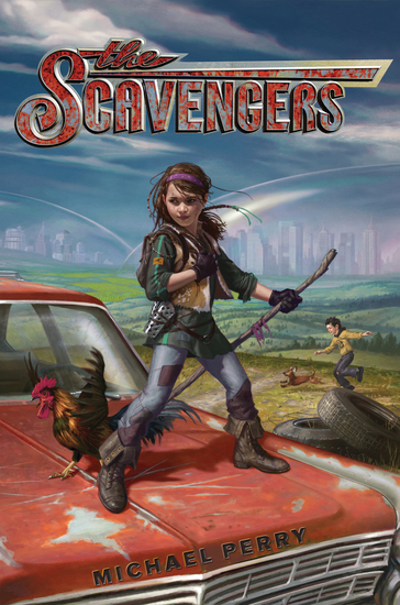 The Scavengers - cover