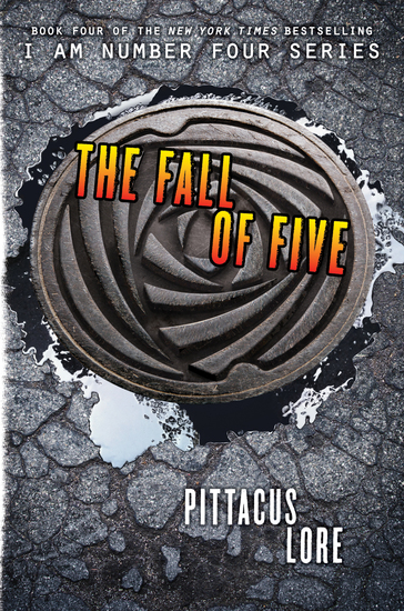 The Fall of Five - cover