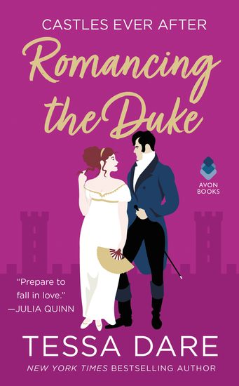 Romancing the Duke - Castles Ever After - cover