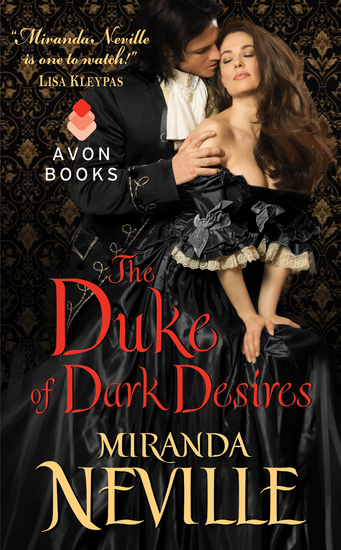 The Duke of Dark Desires - cover