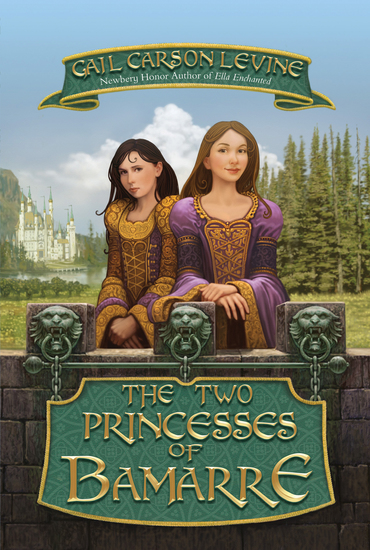 The Two Princesses of Bamarre - cover