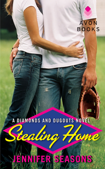 Stealing Home - A Diamonds and Dugouts Novel - cover