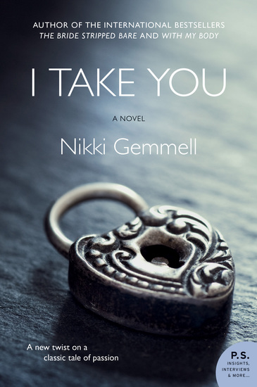 I Take You - A Novel - cover