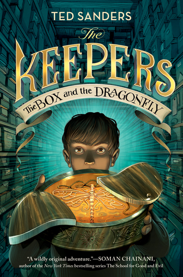 The Keepers: The Box and the Dragonfly - cover