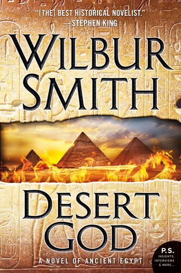 Desert God - A Novel of Ancient Egypt - cover