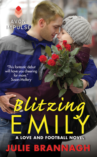 Blitzing Emily - A Love and Football Novel - cover