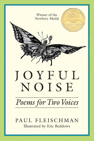 Joyful Noise - Poems for Two Voices - cover