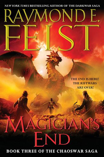 Magician's End - Book Three of the Chaoswar Saga - cover