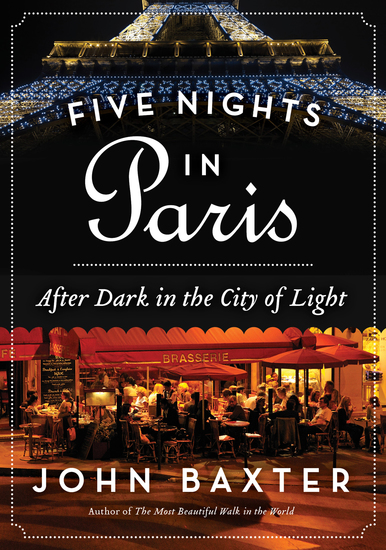 Five Nights in Paris - After Dark in the City of Light - cover