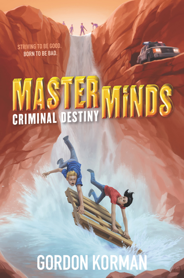 Masterminds: Criminal Destiny - cover