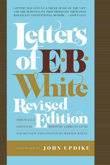 Letters of E B White - cover