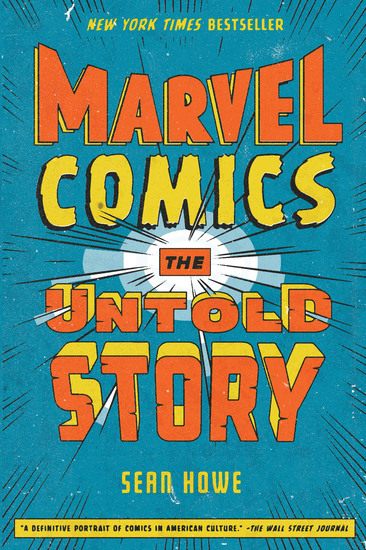 Marvel Comics - The Untold Story - cover