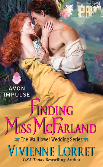 Finding Miss McFarland - The Wallflower Wedding Series - cover