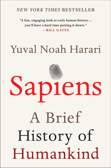 Sapiens - A Brief History of Humankind - cover