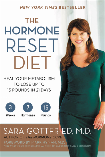 The Hormone Reset Diet - Heal Your Metabolism to Lose Up to 15 Pounds in 21 Days - cover