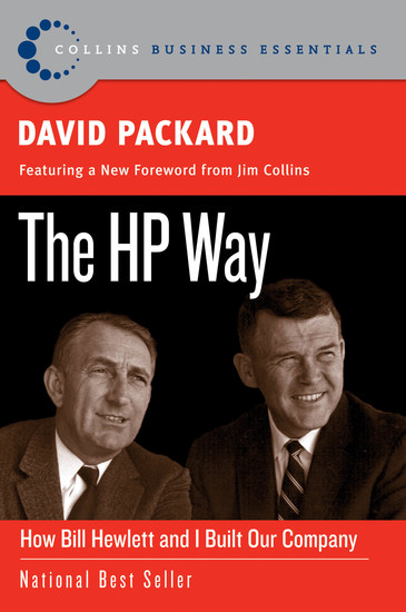 The HP Way - How Bill Hewlett and I Built Our Company - cover