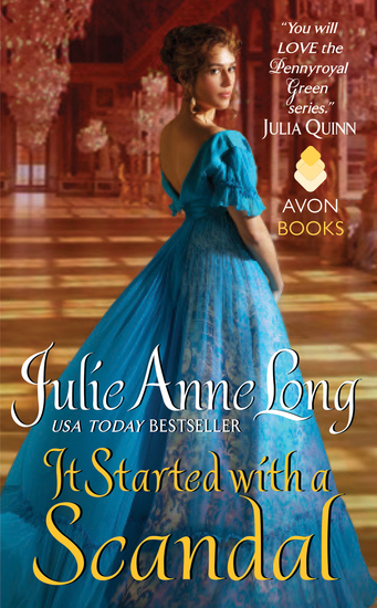 It Started with a Scandal - Pennyroyal Green Series - cover