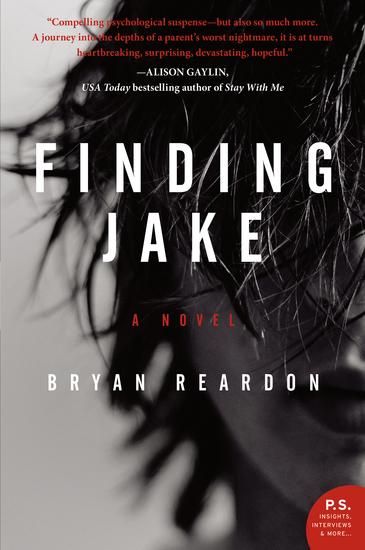 Finding Jake - A Novel - cover