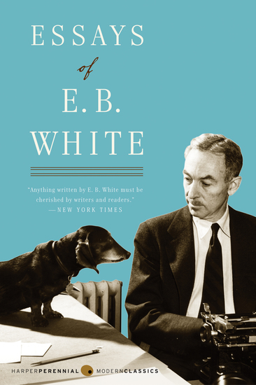 Essays of E B White - cover