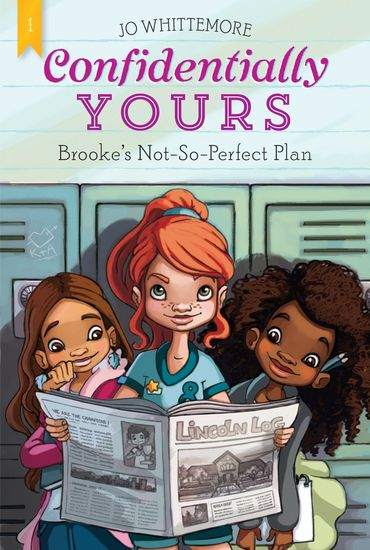Confidentially Yours #1: Brooke's Not-So-Perfect Plan - cover
