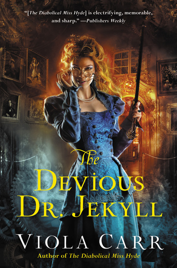 The Devious Dr Jekyll - An Electric Empire Novel - cover