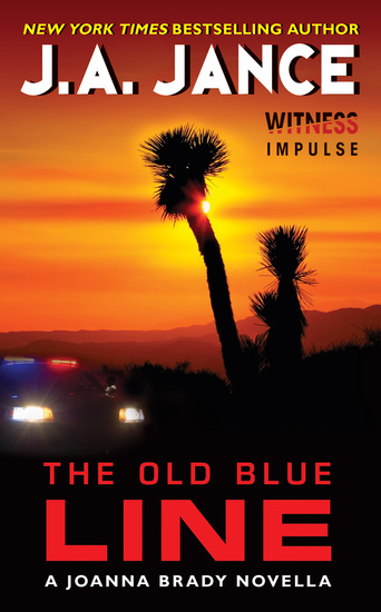 The Old Blue Line - A Joanna Brady Novella - cover