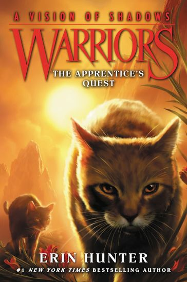Warriors: A Vision of Shadows #1: The Apprentice's Quest - cover