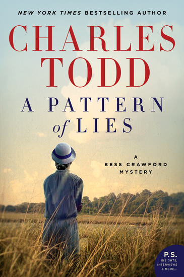 A Pattern of Lies - A Bess Crawford Mystery - cover