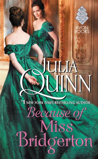 Because of Miss Bridgerton - cover