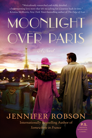 Moonlight Over Paris - A Novel - cover