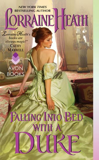 Falling Into Bed with a Duke - A Hellions of Havisham Novel - cover